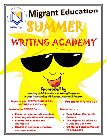 Migrant Education Summer Writing Academy